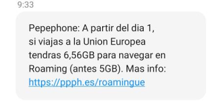Imagen - Pepephone aumenta los datos en roaming para 2021