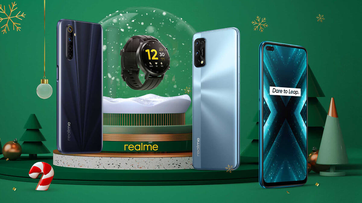 Ahorra en los regalos con las ofertas de realme en móviles y otros gadgets