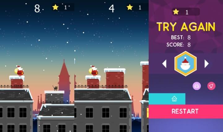 Imagen - Santa jump, el simple juego para Android que cuesta 349,99 €