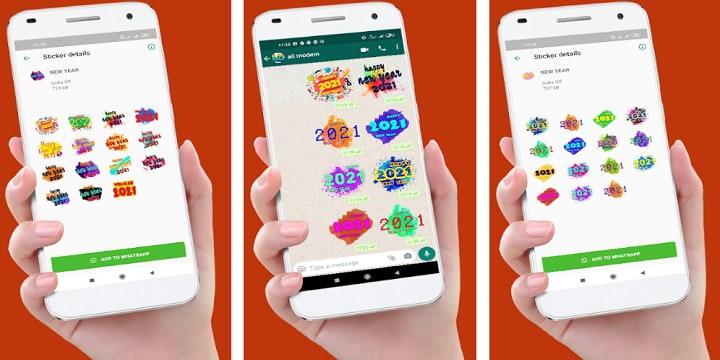 Imagen - 6 mejores stickers del Año Nuevo 2021 para WhatsApp