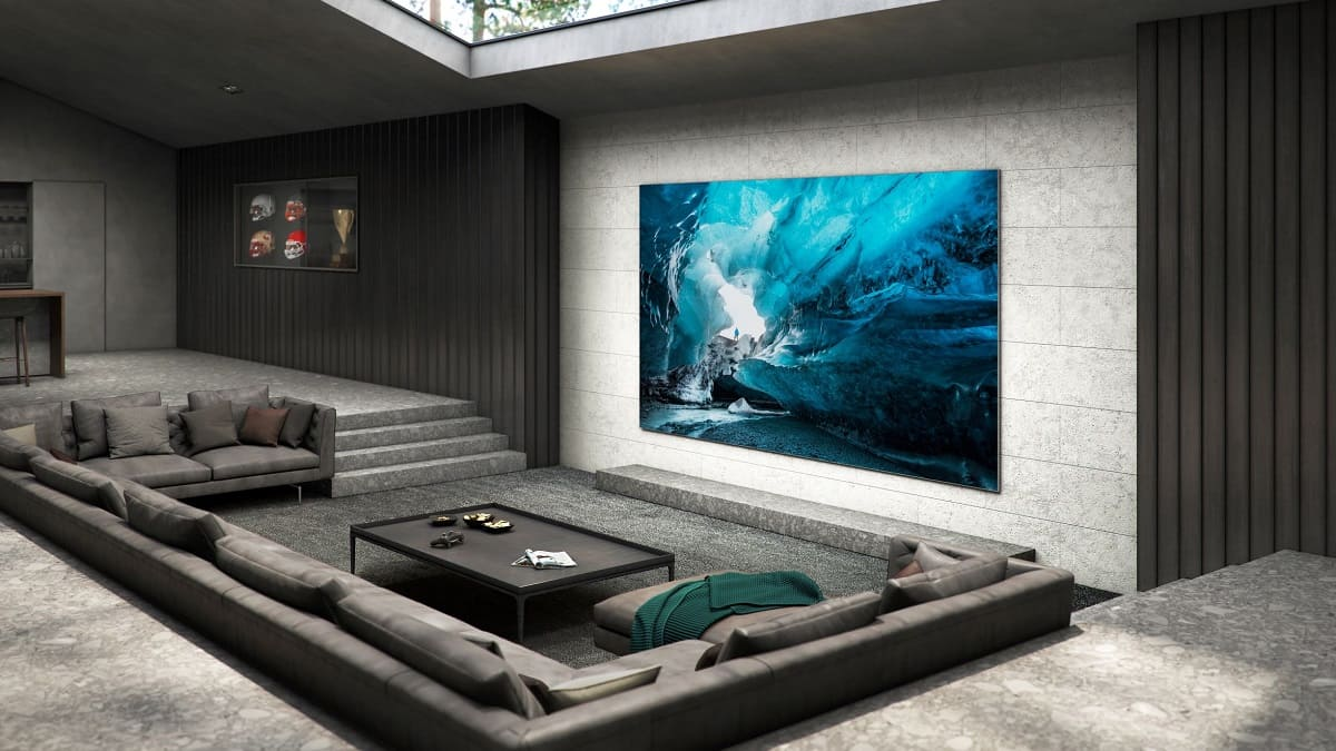 110 pulgadas en tu salón: así es el espectacular televisor MicroLED de Samsung