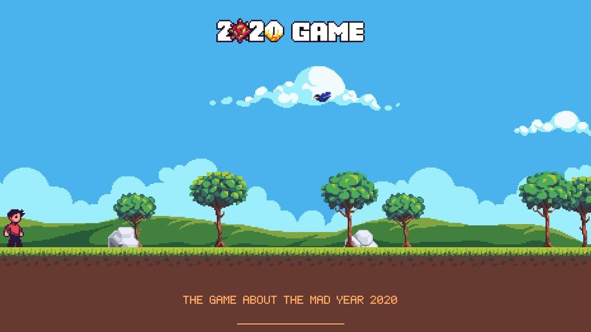 2020 Game: el juego para navegador que resume 2020