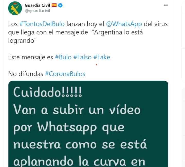 """Imagen - """"Argentina lo está logrando"""" en WhatsApp, ¿te hackea?"""