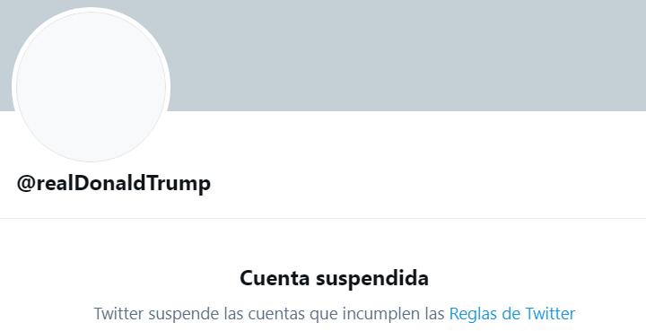 Imagen - Twitter cierra la cuenta de Trump definitivamente