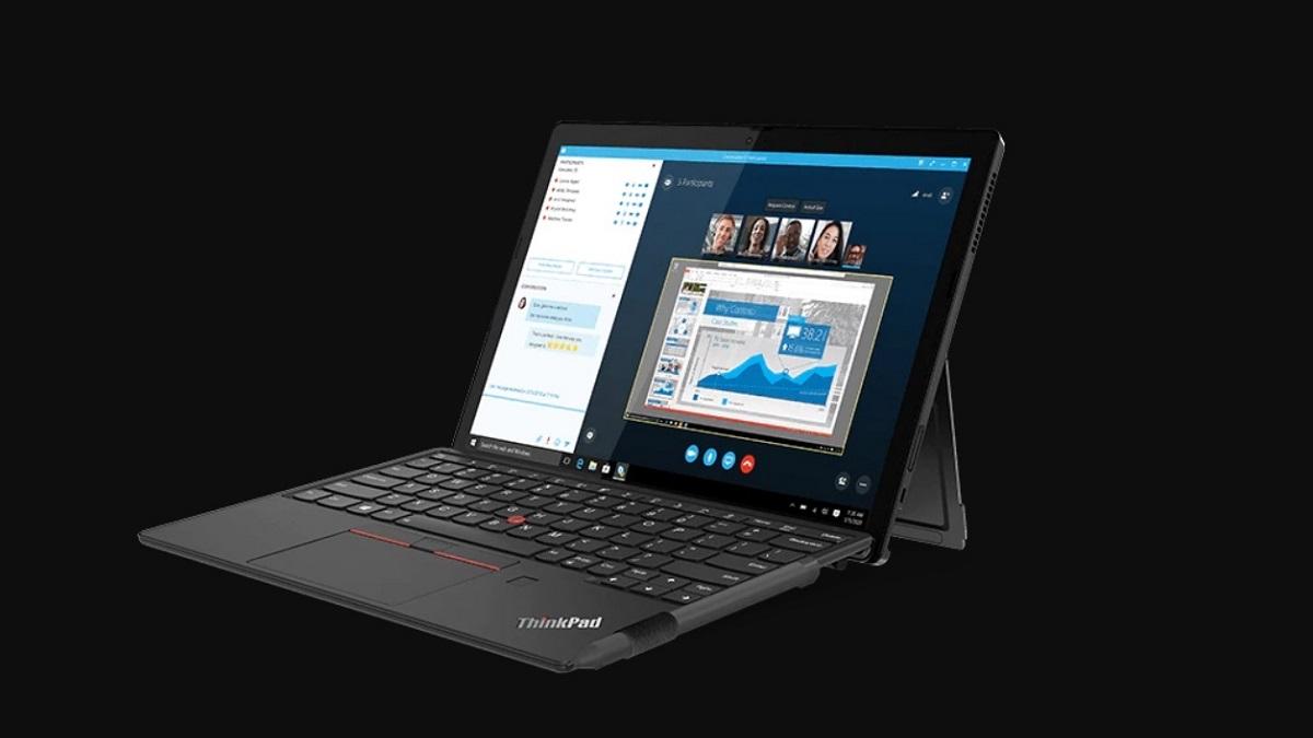 Lenovo ThinkPad X12 Detachable, el 2 en 1 para profesionales con NFC y Windows 10 Pro