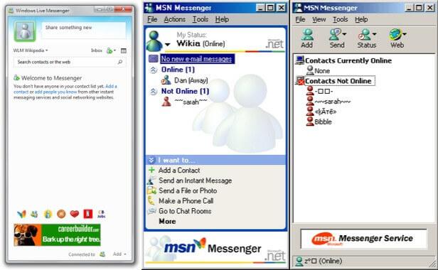 Imagen - Cuando todo era BlackBerry Messenger y MSN Messenger
