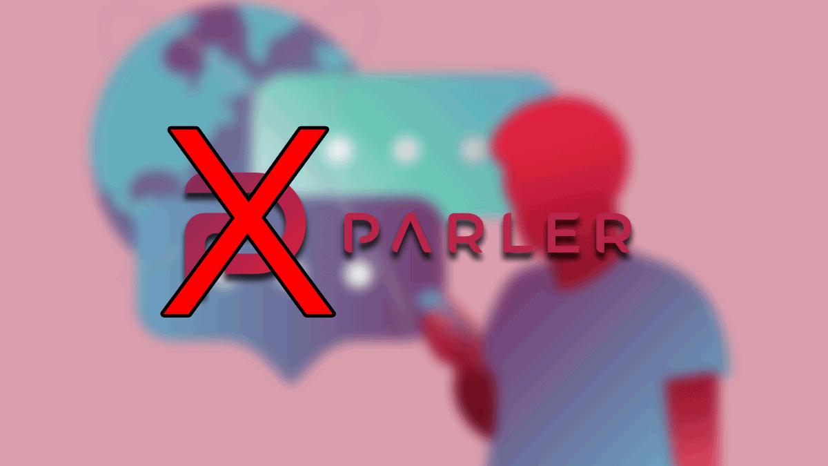 Parler es eliminada de Google Play
