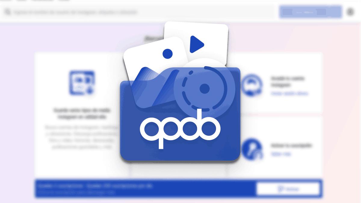 Qoob Stories: descarga fotos, vídeos y Stories de Instagram