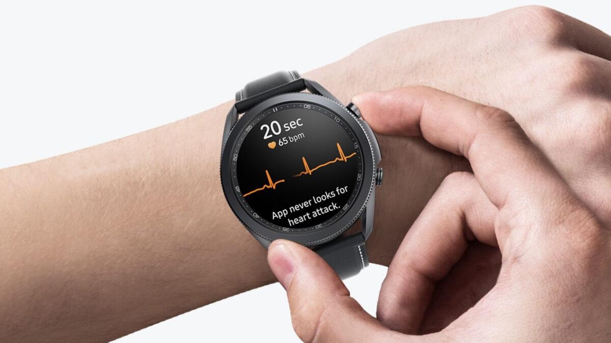 Galaxy Watch 3 y Galaxy Watch Active 2 añaden presión arterial y electrocardiograma