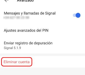 Imagen - Cómo eliminar Signal