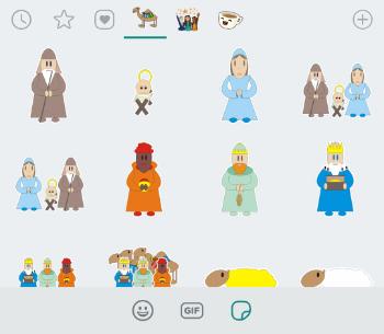 Imagen - Reyes Magos Sticker App, stickers para WhatsApp