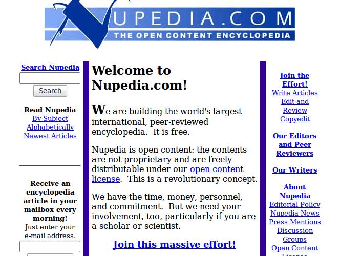 Imagen - Wikipedia cumple veinte años: conoce sus curiosidades