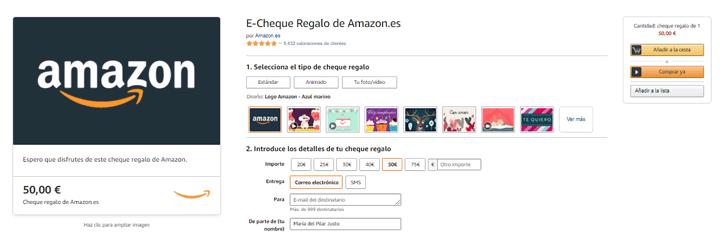 Imagen - Consigue 6 euros gratis en Amazon: así se hace