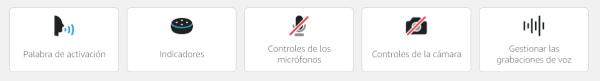 Imagen - Alexa pide revisar la configuración de privacidad email