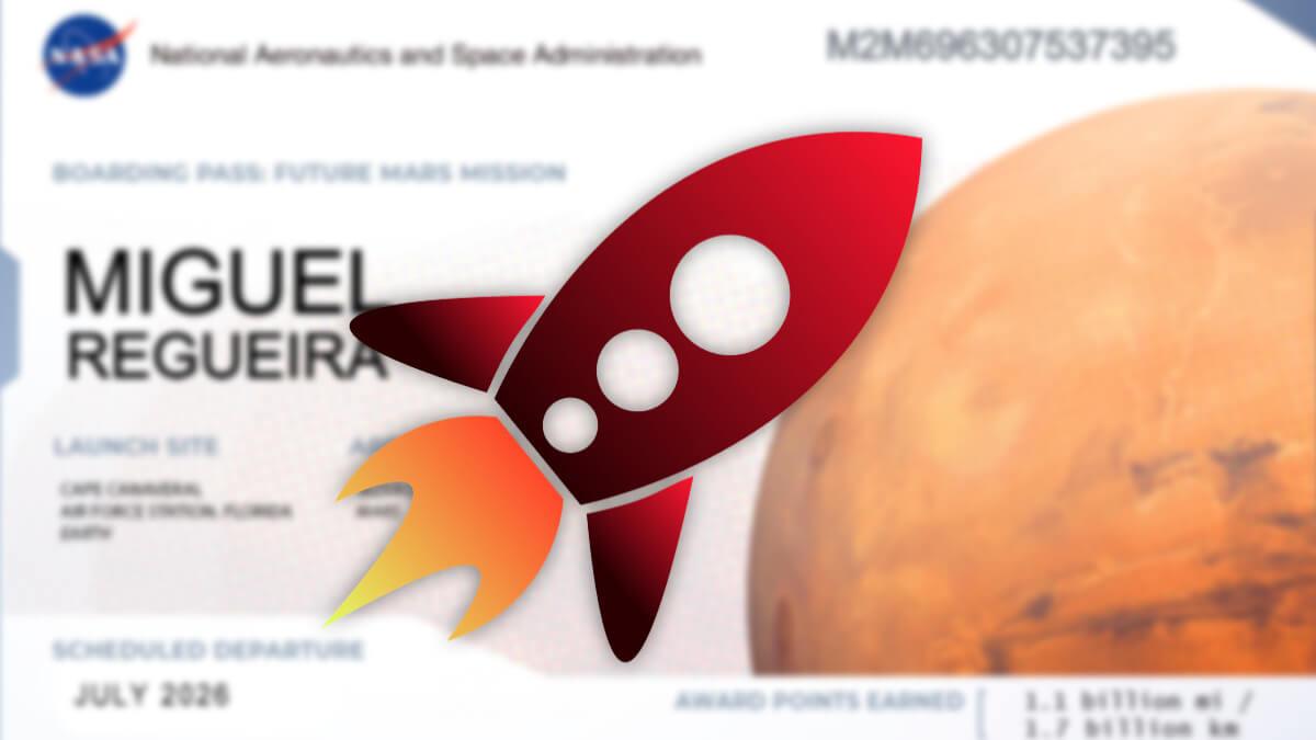 Envía tu nombre a Marte en el próximo rover de la NASA desde esta web