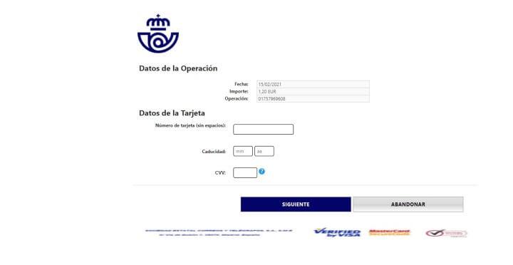 """Imagen - """"Pago de gastos"""" de Correos: cuidado con los SMS y correos"""