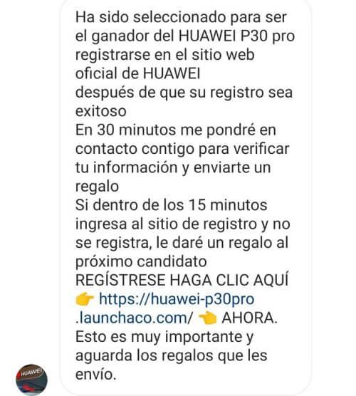 Imagen - Regalo Huawei P30 Pro en Instagram, ¿es real?