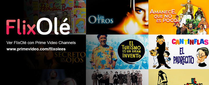 Imagen - FlixOlé, el Netflix español, ahora en Amazon Prime Video