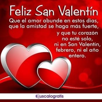 Imagen - 30 felicitaciones de San Valentín para WhatsApp