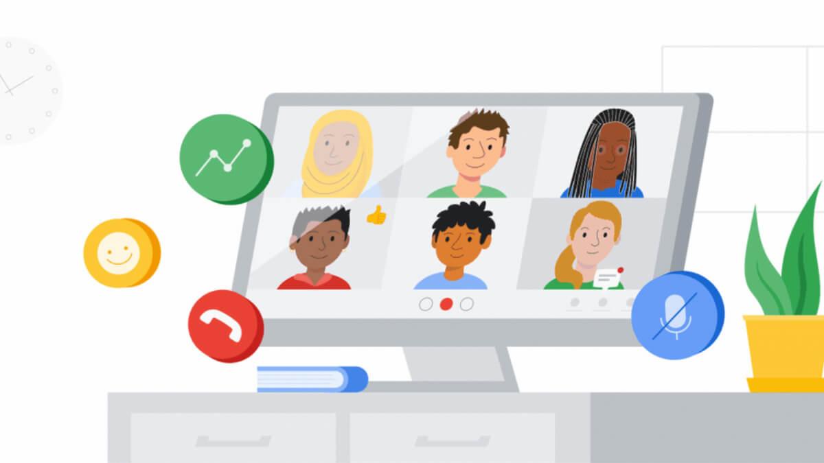 Novedades en Google Meet para 2021: estas son