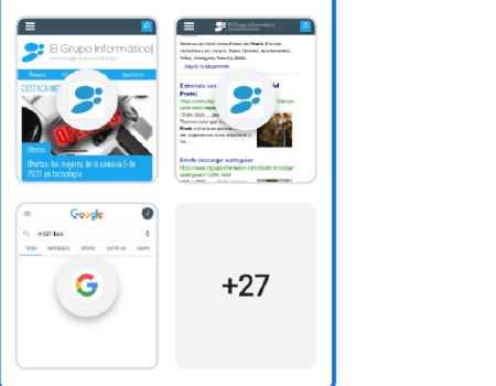 Imagen - Cómo usar los grupos de pestañas en Chrome para Android