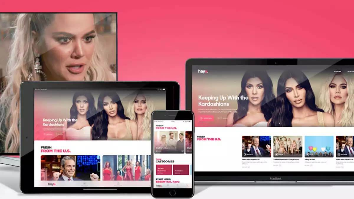 Hayu, otra plataforma de streaming, llega a España con series y reality shows