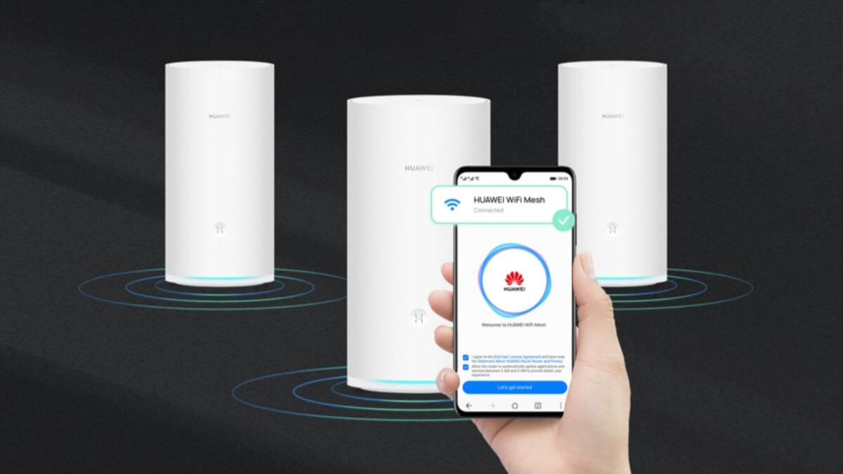Huawei WiFi Mesh: cobertura en toda la casa con este sistema de triple banda