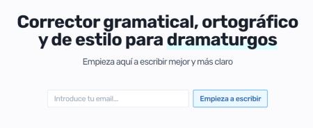 Imagen - Lorca Editor, corrector gramatical y ortográfico en español