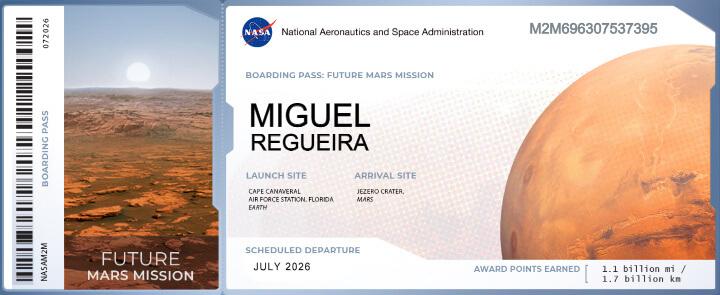 Imagen - Cómo enviar tu nombre a Marte con la NASA