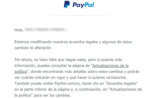 Imagen - Cambios en los acuerdos legales de PayPal, ¿qué significa?