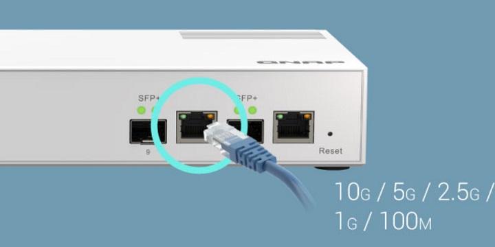 Imagen - QNAP QSW-M2108-2C: detalles y ficha técnica del switch