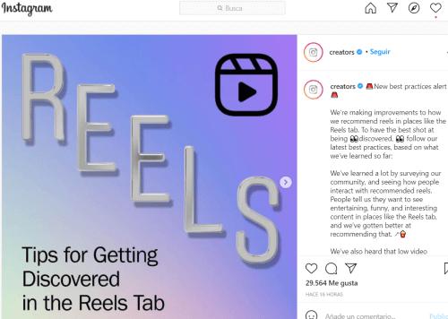 Imagen - Instagram dejará de recomendar Reels sacados de TikTok