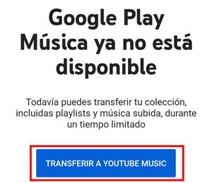 Imagen - Google Play Music cierra: así puedes exportar tus datos