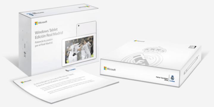 Imagen - Microsoft lanza la Windows Tablet Edición Real Madrid