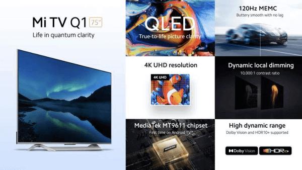 Imagen - Xiaomi Mi TV Q1: especificaciones y precio