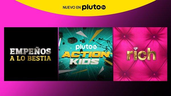 Imagen - Pluto TV estrena 3 canales gratis: descubre cuáles son
