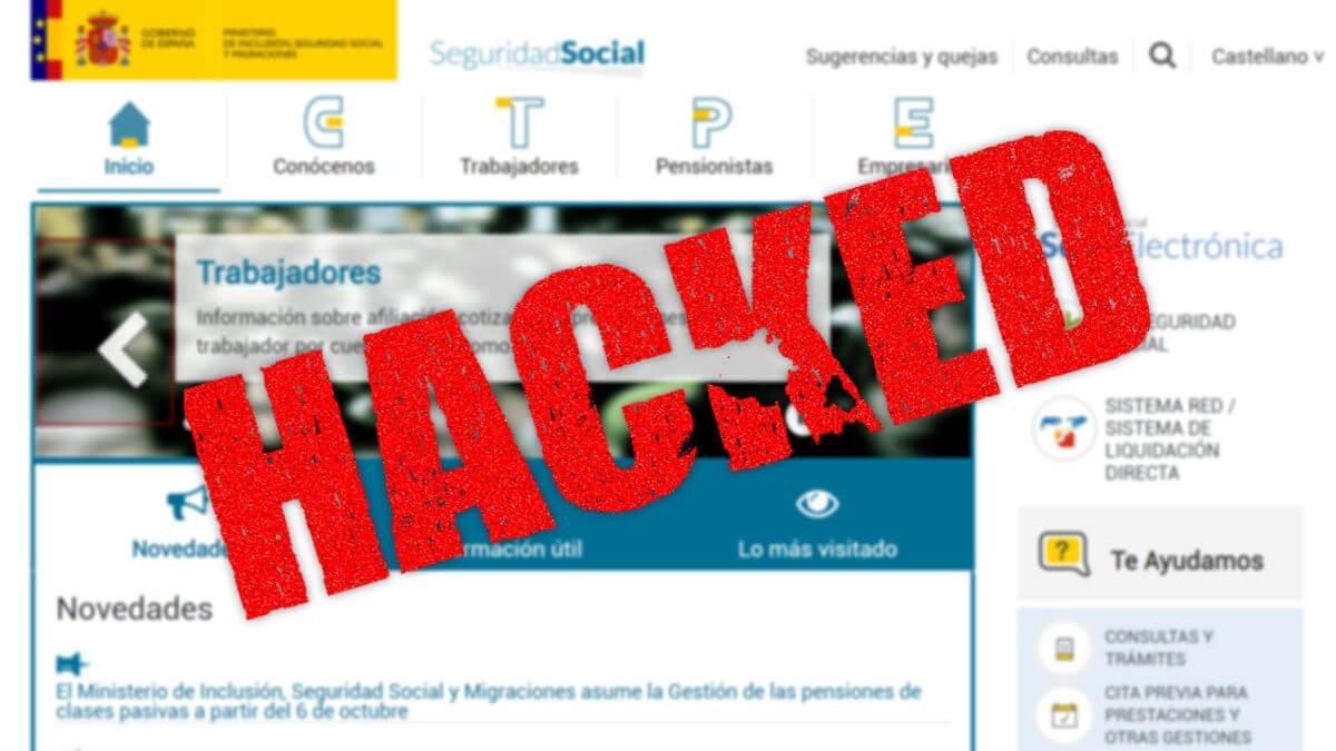 El ataque al SEPE también afecta al Instituto Nacional de la Seguridad Social