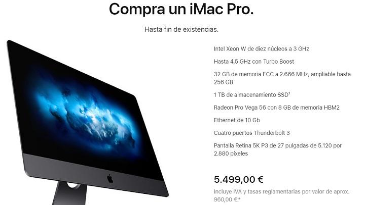 Imagen - Adiós al iMac Pro actual: Apple no lo venderá más