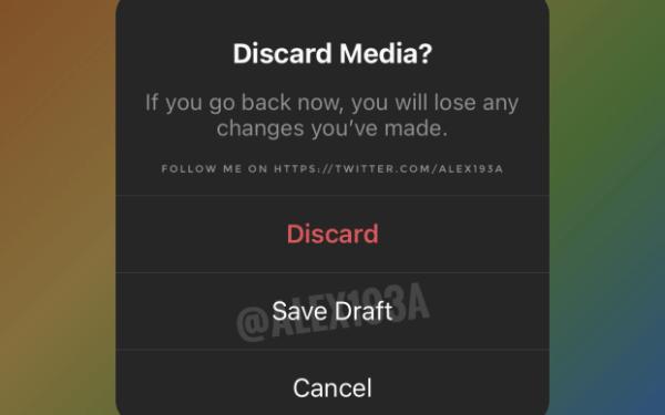 Imagen - Instagram permitirá guardar Stories como borrador