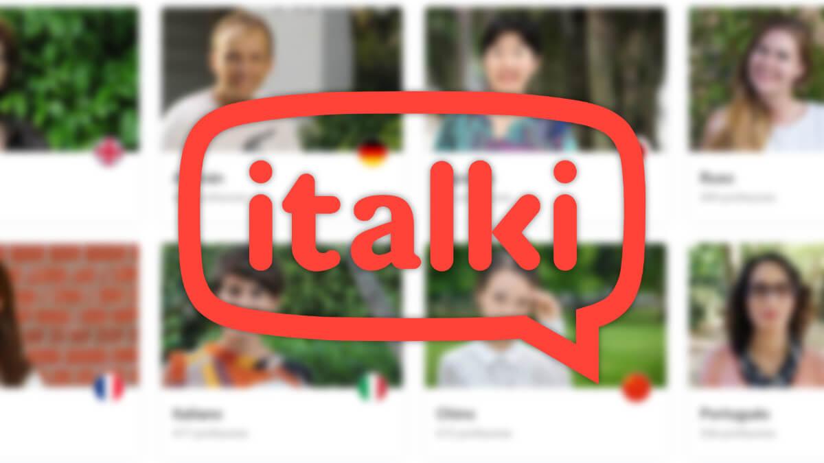 Italki, la web para aprender idiomas que conecta profesores y alumnos