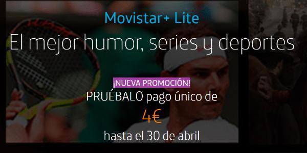 Imagen - Movistar+ Lite por 4 euros: nueva promoción