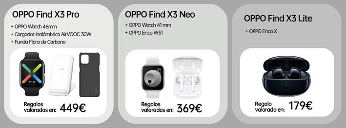 Imagen - Oppo Find X3 Pro, Neo y Lite con Orange: precios y tarifas