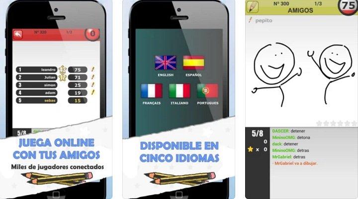 Imagen - Pinturillo 2, pictionary online y gratis para iPhone