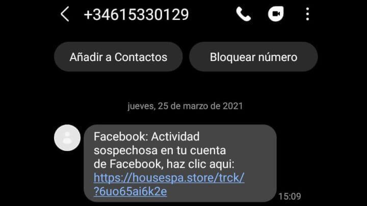 """Imagen - """"Actividad Sospechosa en tu cuenta"""": cuidado con este SMS"""