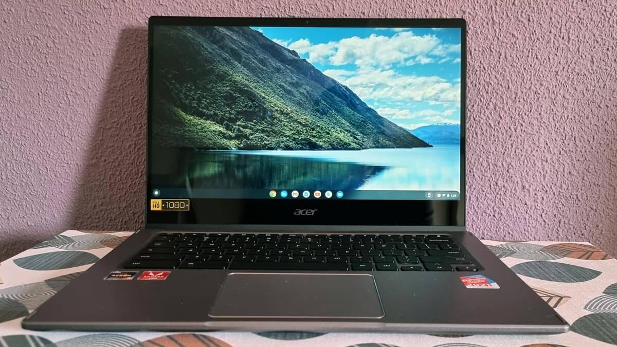 Review: Acer Chromebook Spin 514, un equipo diferente con altas prestaciones