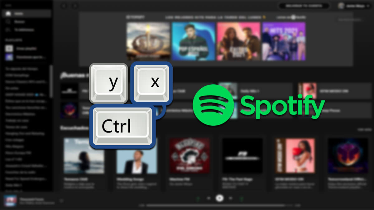 16 atajos de teclado de Spotify que debes conocer