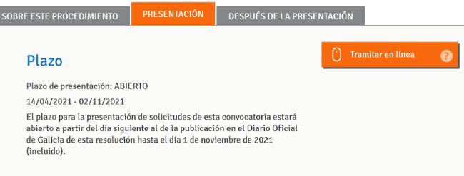 Imagen - Cómo solicitar el bono turístico de la Xunta por Internet