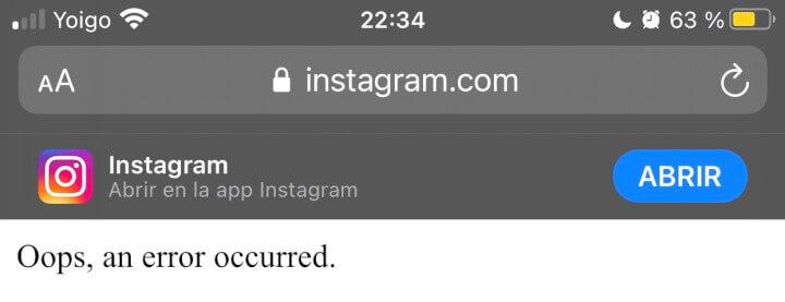 Imagen - Facebook e Instagram caídos para muchos usuarios