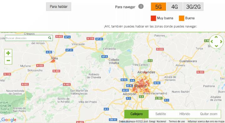 Imagen - Yoigo amplía su cobertura 5G a 200 localidades