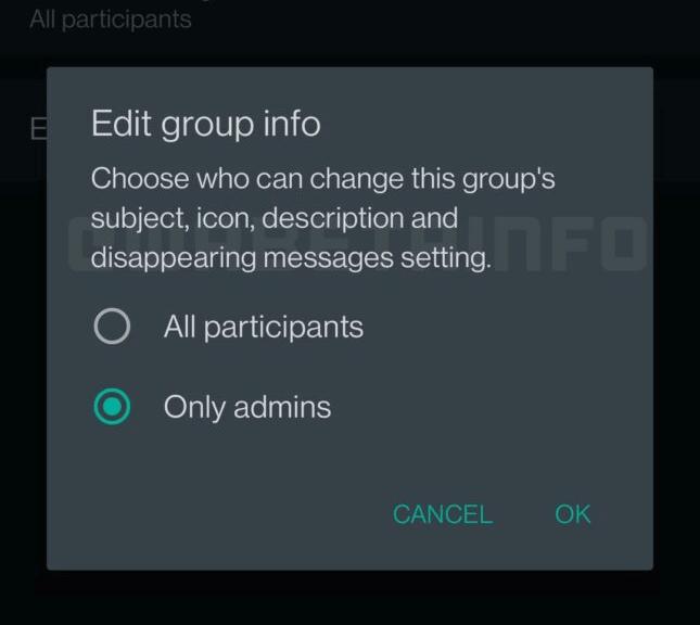 Imagen - WhatsApp permitirá auto-eliminar los mensajes en grupos